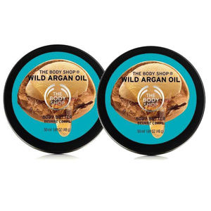 The Body Shop Wild Argan Oil Mini Body Butter Set